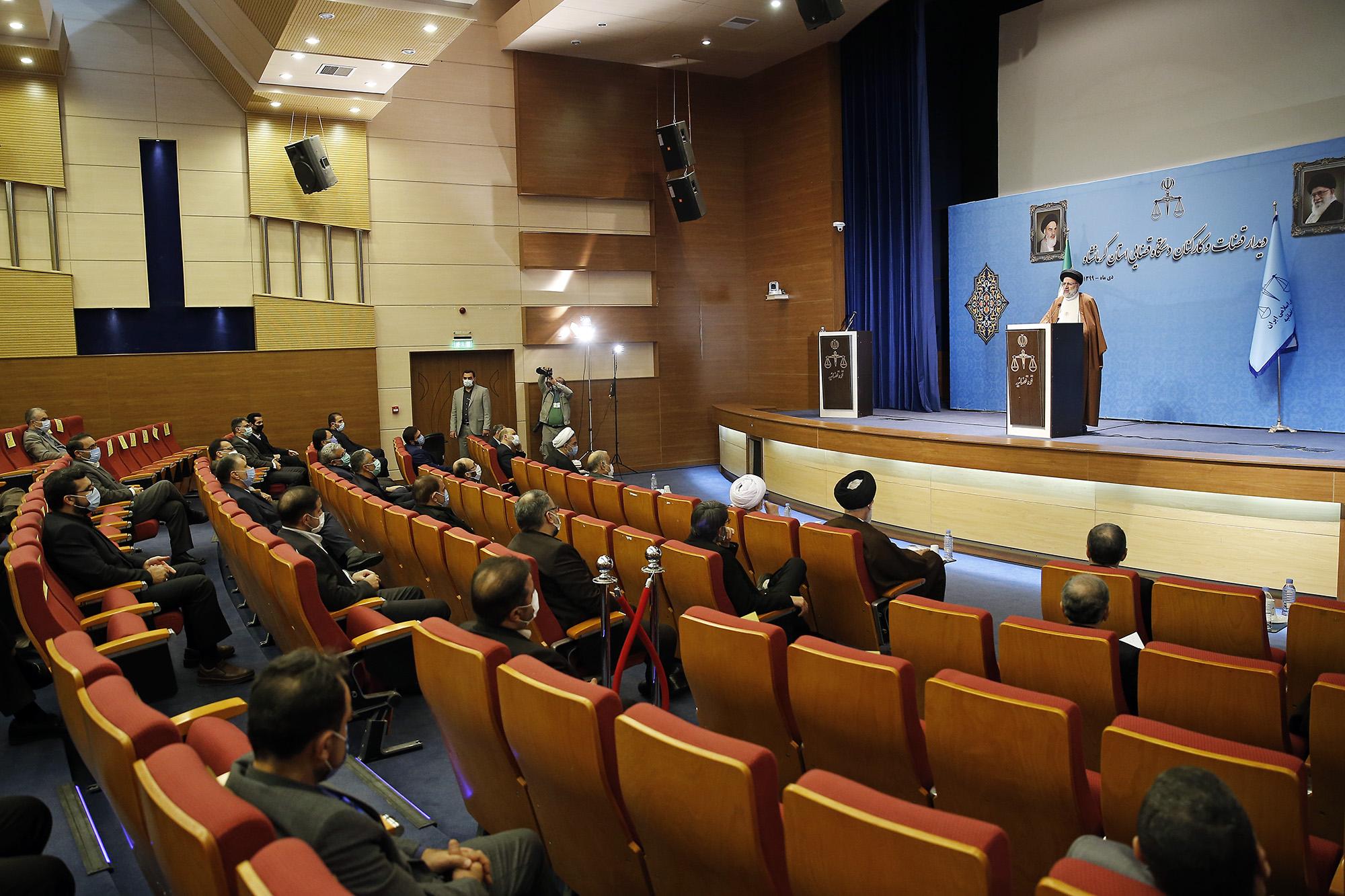 رئیس قوه قضاییه در کرمانشاه