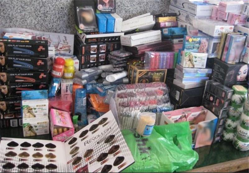 توقیف محصولات -آرایشی و بهداشتی  در شهر لنگرود