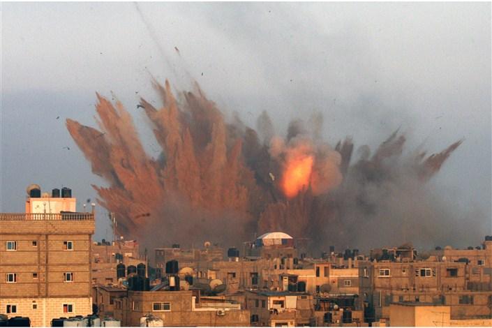 حملات رژیم صهیونیستی به نوار غزه
