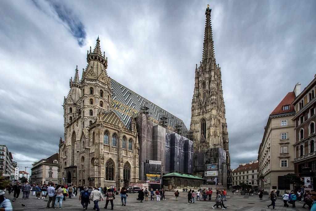 کلیسای جامع سنت استفان در وین، اتریش