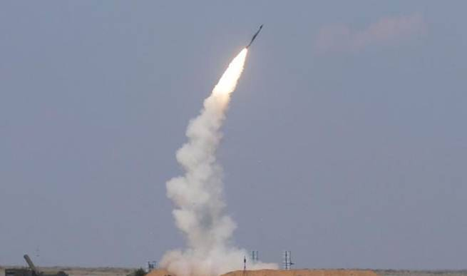 حمله موشکی به فلسطین