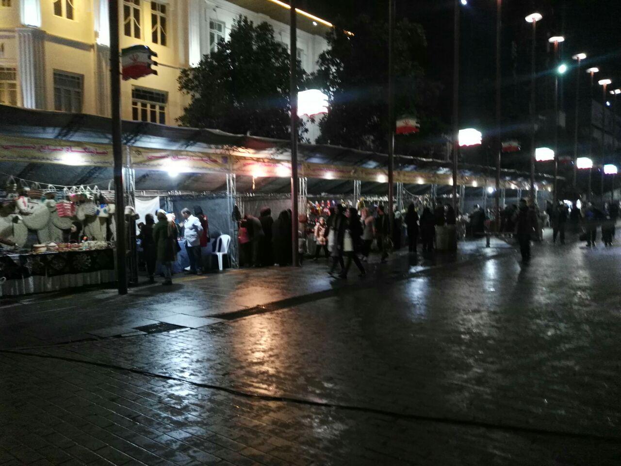 رشت اولین شهر شب های روشن کشور