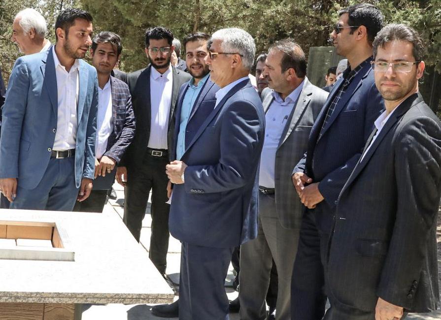 استاندار فارس در مراسم افتتاح مجموعه گردشگری باکویه شیراز