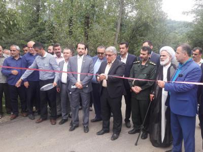 افتتاح پروژه های عمرانی در فومن