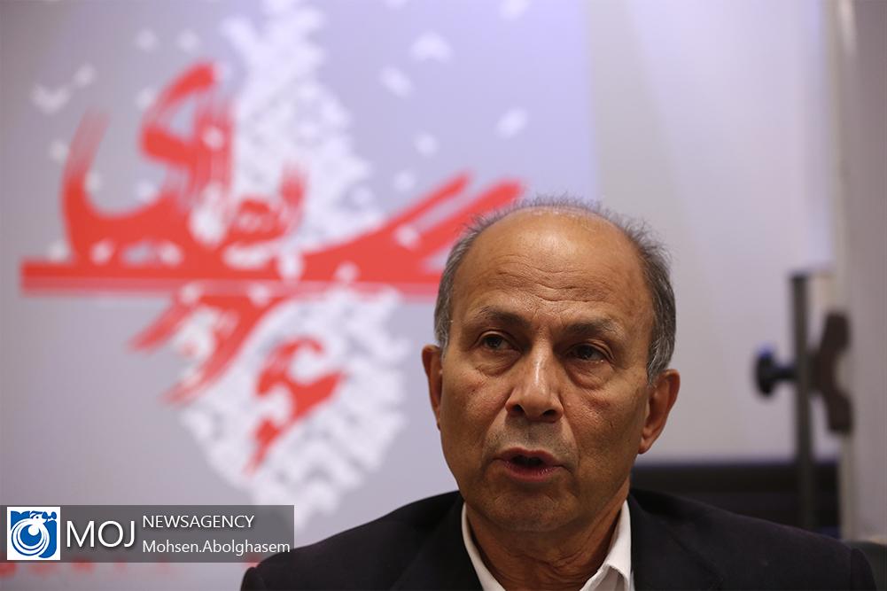 نشست خبری ششمین دوسالانه سرو نقره ای- مسعود سپهر