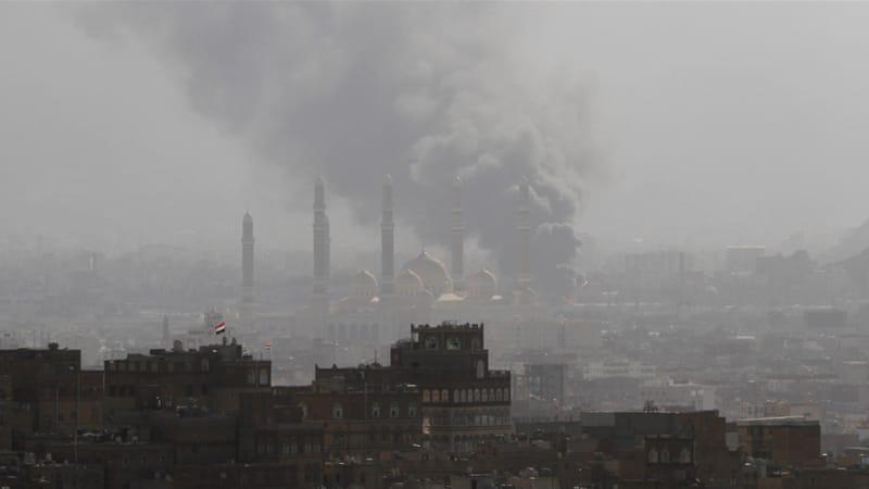 حمله هوایی به صنعا