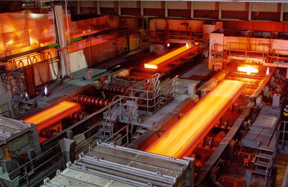 رشد محصولات فولاد