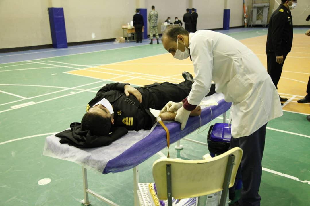 اهداء خون دانشگاه دریایی نوشهر