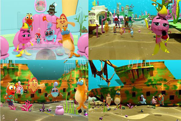 انیمیشن ماهی بادکنکی
