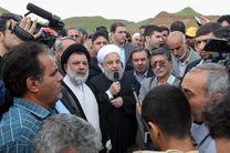 مسئولیت بازسازی همه مناطق ویران شده با فرماندهی وزیر کشور است/ تا پایان کار کنار مردم هستیم