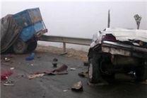 23 کشته و 39 مجروح حاصل واژگونی و تصادف 26 دستگاه اتوبوس، سواری، کامیون و مینیبوس