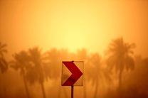وقوع پدیده گرد و غبار در استان بوشهر