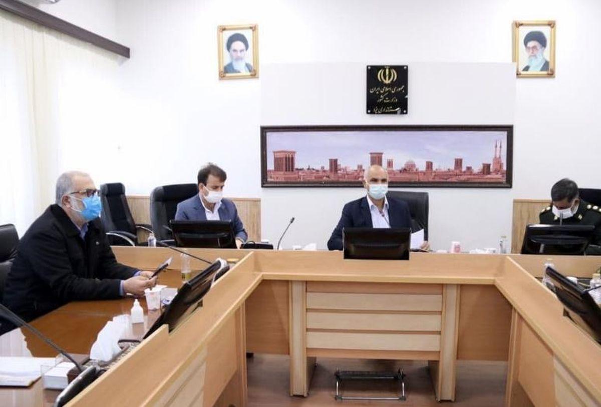 بررسی دستورالعمل اشتغال کارکنان وظیفه در دستگاه های استان یزد