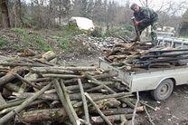 کشف و ضبط 3 تن چوب قاچاق در آران و بیدگل