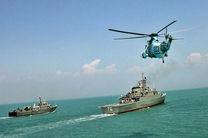 رزمایش نیروی دریایی ارتش در دریایی خزر پایان یافت