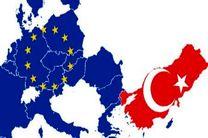 حمله دولت ترکیه به مواضع اتحادیه اروپا