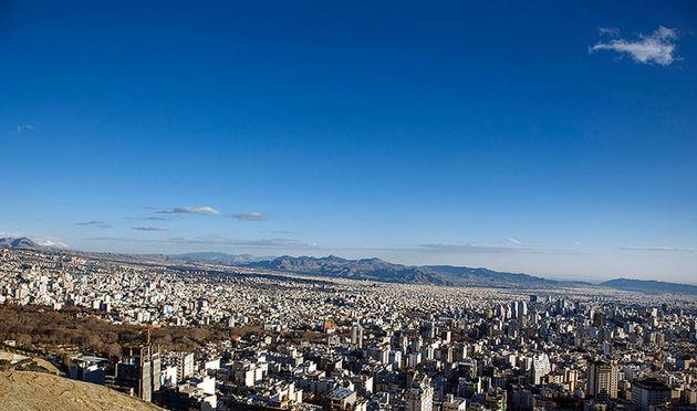 شاخص آلودگی هوای پایتخت امروز 16 فروردین 49 شد