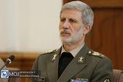 پیام امیر حاتمی به وزرای دفاع کشورهای اسلامی به مناسبت عید سعید فطر