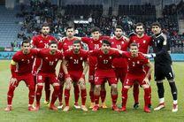 رنگ پیراهن تیم ملی فوتبال ایران مقابل ازبکستان