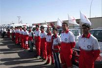 اعزام بیش از ۵۰ نجاتگر جمعیت هلال احمر اصفهان به مناطق سیل زده