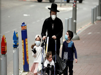 The death toll of coronavirus in Israel rose to 264