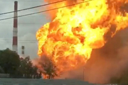 Eight people injured in power plant blaze in near Moscow