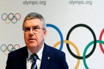 پیام تبریک رئیس کمیته بینالمللی المپیک (IOC) به صالحی امیری