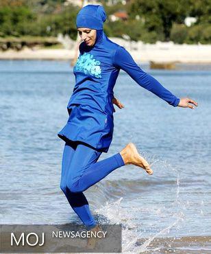تاجر مسلمان فرانسوی جریمه پوشیدن بورکینی را می پردازد