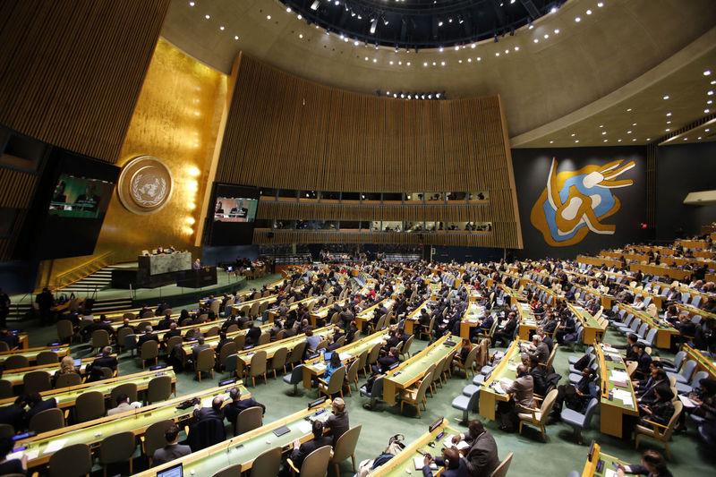سازمان ملل قطعنامه حمایت از ملت فلسطین را تصویب کرد