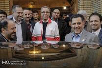 رونمایی از تجهیزات و مراکز جدید درمانی مجتمع هلال ایران