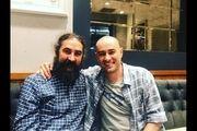انتشار اولین عکس از گریم شهاب حسینی در نقش شمس تبریزی