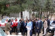 بازدید رئیس دفتر رئیسجمهوری از خدمت رسانی هلال احمر در مناطق سیلزده لرستان