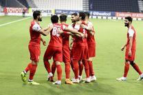 نتیجه بازی پرسپولیس و شارجه امارات/ صعود مقتدرانه پرسپولیس به مرحله بعد لیگ قهرمانان