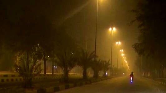 پیش بینی کاهش دید افقی ناشی از دود برای آسمان خوزستان