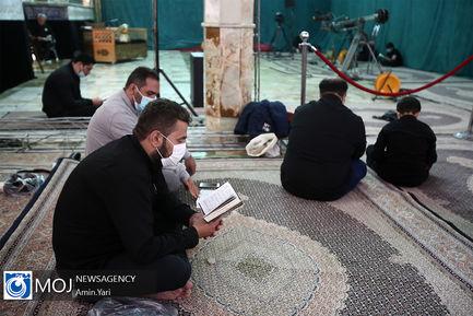 احیای شب بیست و سوم ماه مبارک رمضان در امامزاده صالح (ع)