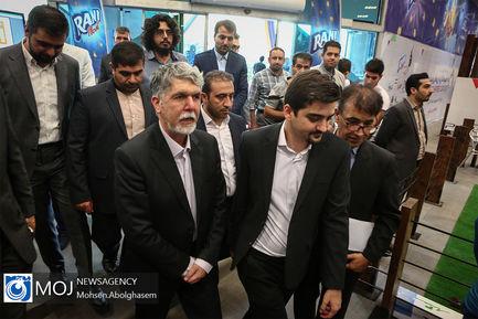 بازدید وزیر ارشاد از جشنواره بازی های ویدیویی ایران