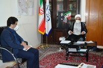 مدیرکل بنیاد مسکن استان قم با حجت الاسلام ذوالنوری دیدار کرد