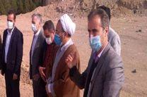 حجت الاسلام والمسلمین بلک از موقوفات شهرستان خمینی شهر بازدید کرد
