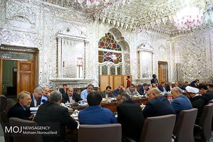 جلسه مجمع نمایندگان استان خوزستان با حضور علی لاریجانی