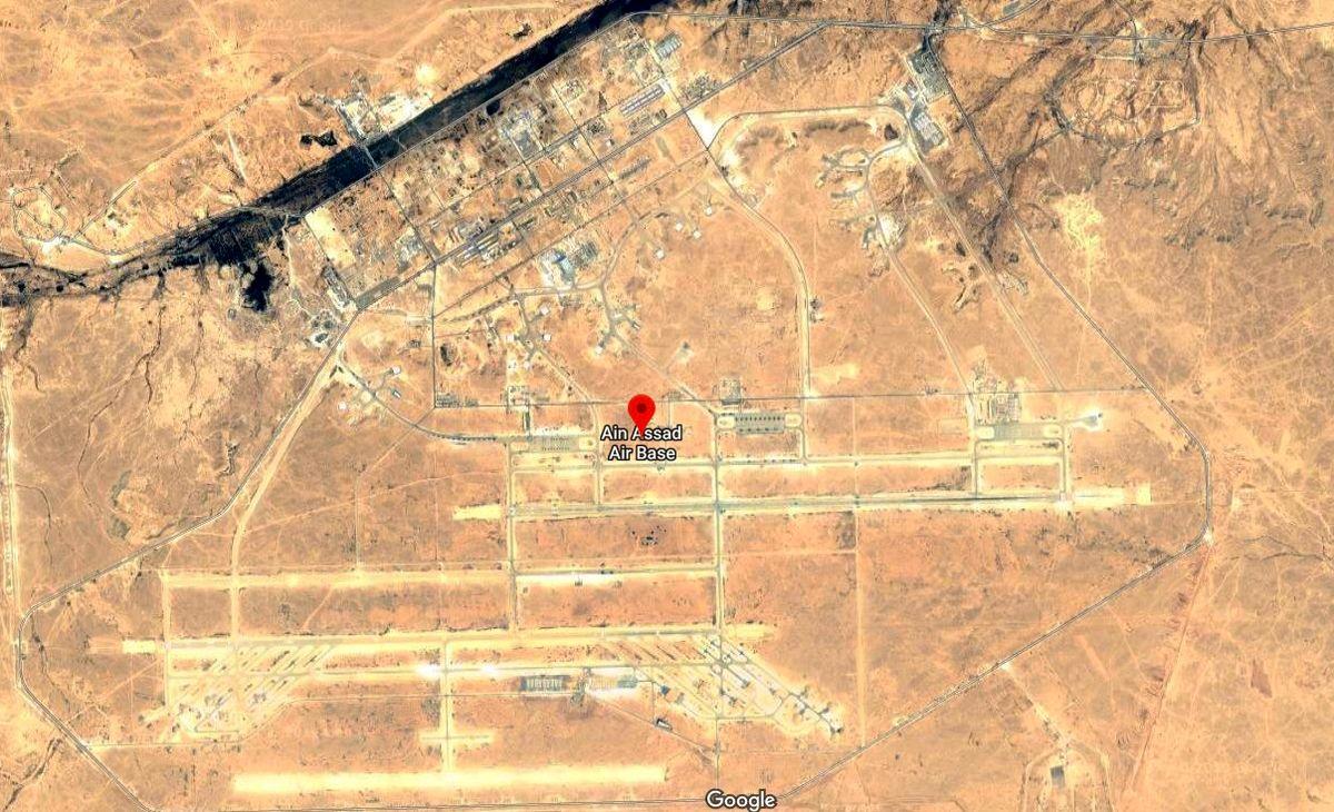 پایگاه «عین الاسد» هدف حمله پهپادی قرار گرفت