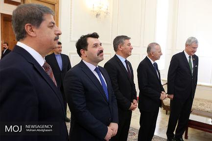 دیدار رییس کمیسیون سیاست خارجی پارلمان ترکیه با ظریف