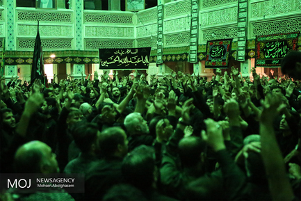 هشتمین شب عزاداری ماه محرم در مهدیه تهران