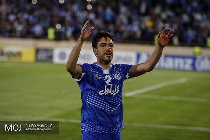 خسرو حیدری بازیکن تیم فوتبال استقلال
