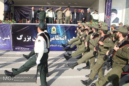 صبحگاه مشترک ستاد فرماندهی نیروی انتظامی تهران بزرگ