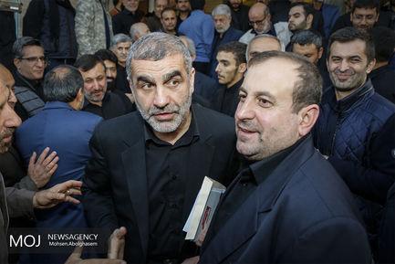 مراسم ختم برادر محمود احمدی نژاد