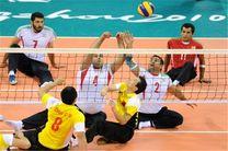 پیروزی دوباره تیم والیبال نشسته ایران مقابل چین