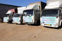 ارسال بیش از ۲۰ تریلی کمکهای مردم استان گلستان به مناطق زلزلهزده