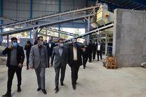 بازدید مدیرعامل بانک ملت از گروه تولیدی ناصری در شهرستان بیرجند