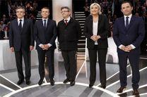 «ماکرون» پیروز جدال با «لوپن» در اولین مناظره تلوزیونی انتخابات 2017 فرانسه