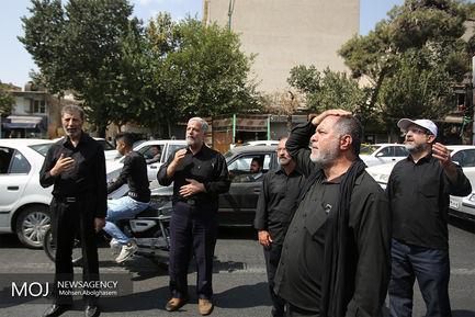 عزاداری ظهر عاشورای حسینی در محله شاپور